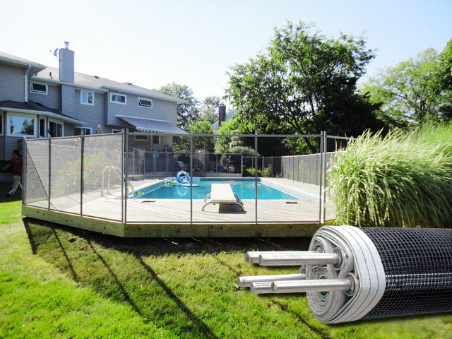 Above ground pool privacy fence how to make