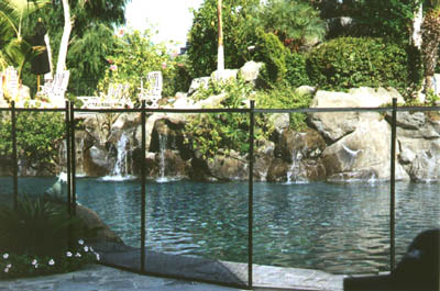 How to install pool fence