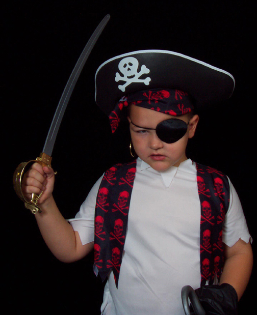 kids party pirate