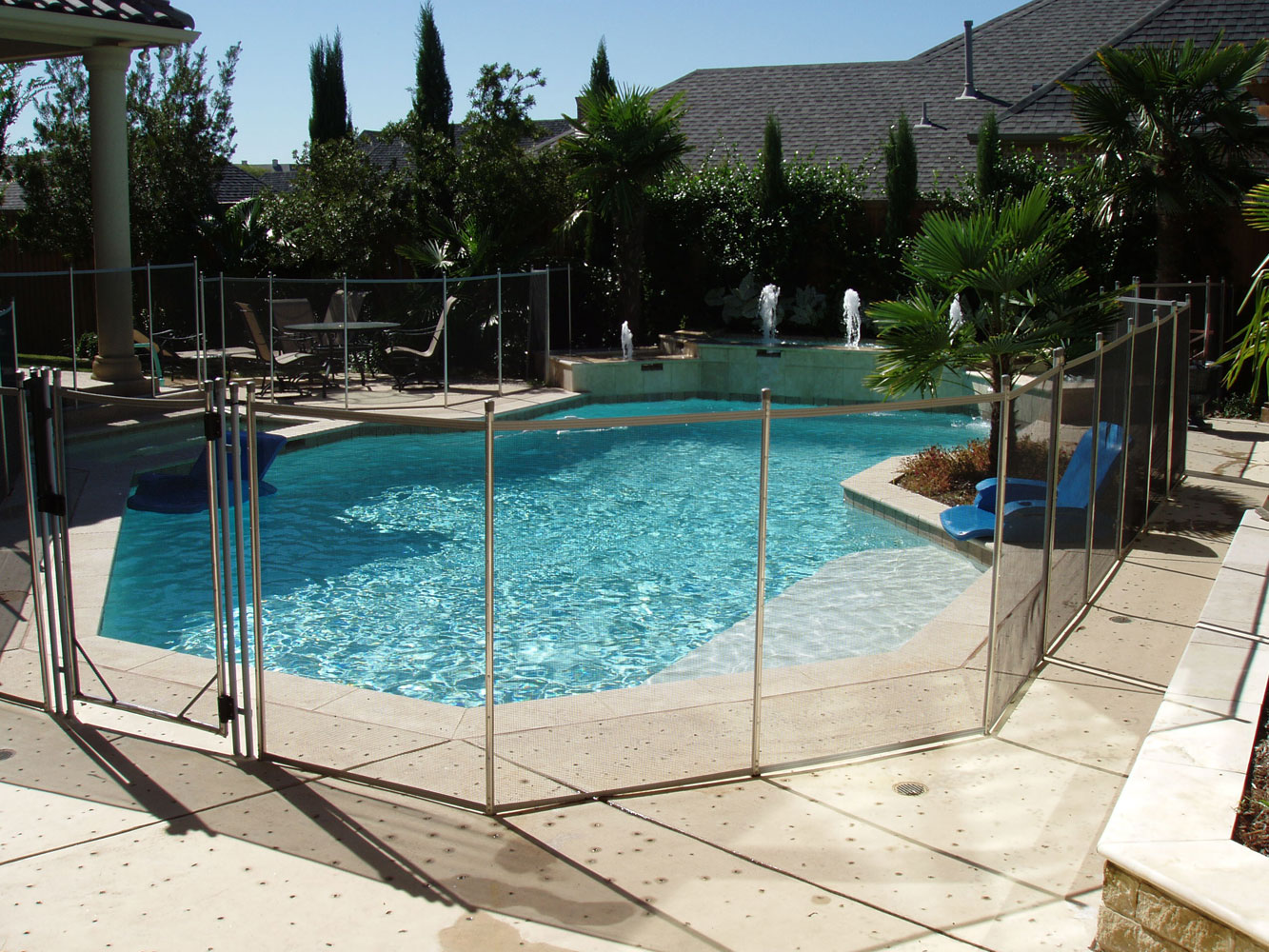 Above Ground Pools Los Angeles Round Designs